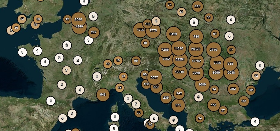 Metaadatok a térképen